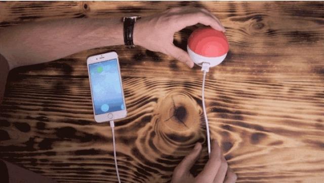 モンスターボールの充電器