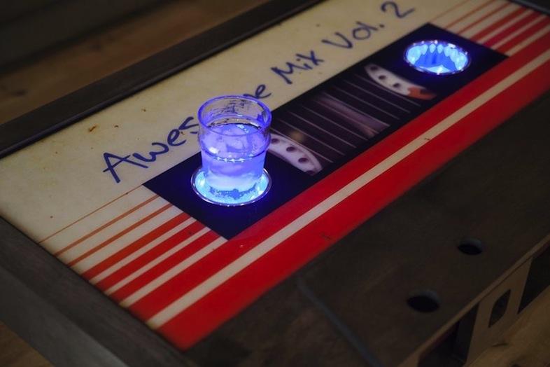カセットテープ型コーヒーテーブル・Awesome Mix Vol 2 Cassette Tape
