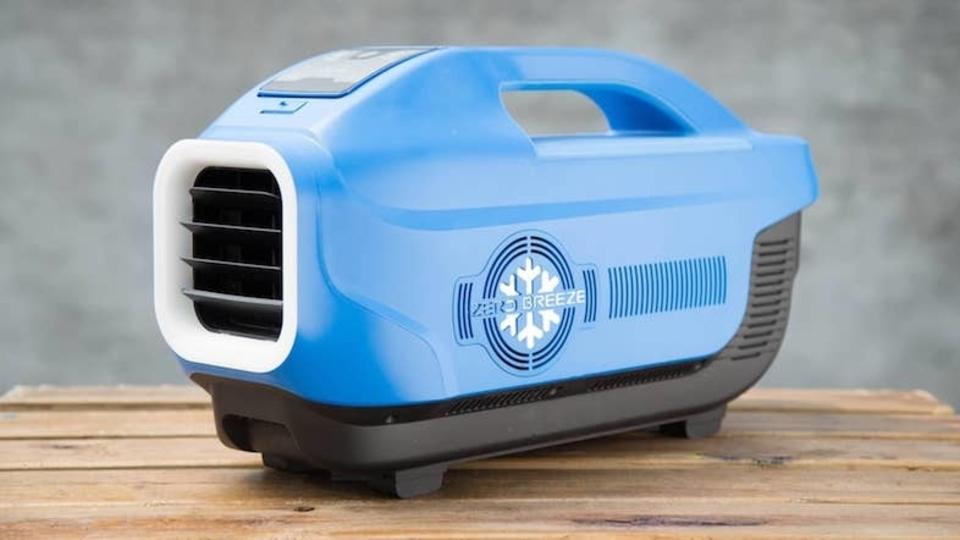 涼しさを持ち歩こう。7℃も下げるバッテリー駆動のポータブルエアコン登場