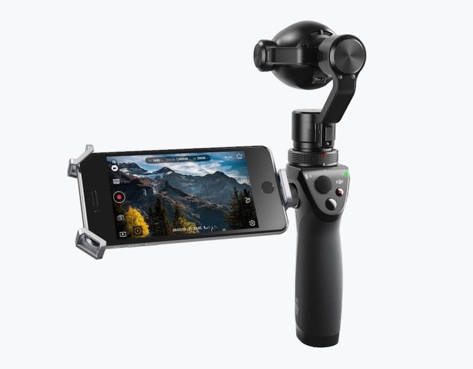 ズームに対応! DJIがド安定ジンバル付きカメラ「Osmo+」発表