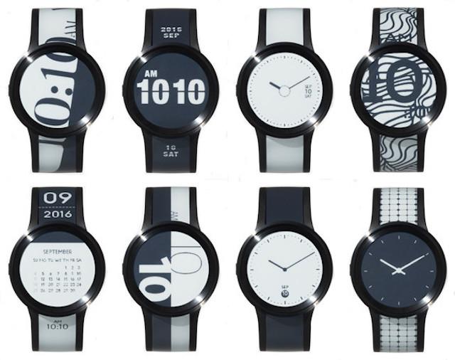服に合わせて時計のバンドも着替えよう。ソニーのスマートウォッチ「FES Watch U」2