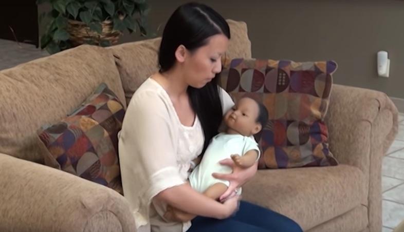 リアル赤ちゃんでの研究 リアル赤ちゃん人形