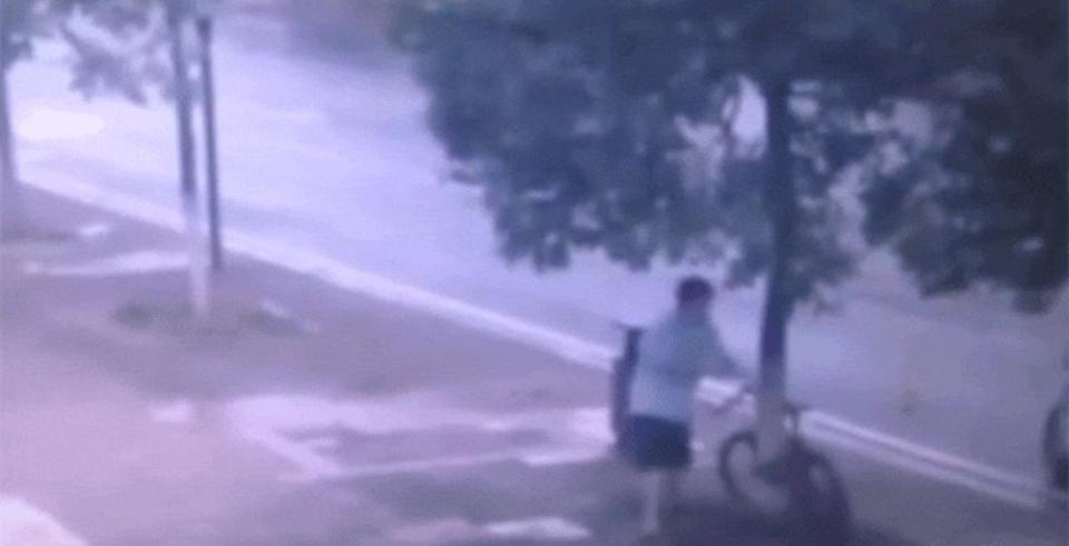 史上最悪?の自転車泥棒