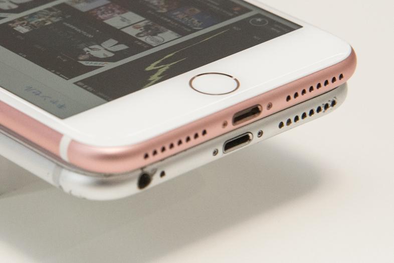 iPhone 7/7 Plusの内蔵スピーカー。音量大きくなったけれども3