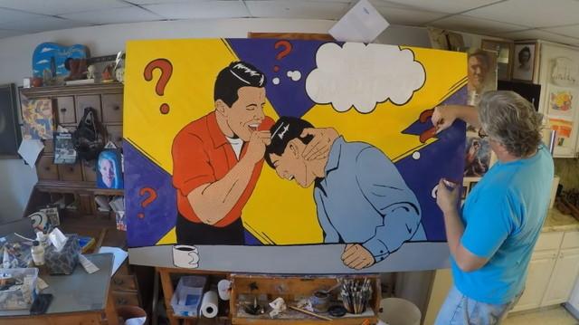 自らをポップアートとして描く「バック・トゥ・ザ・フューチャー」ビフの現在2