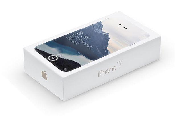 偽iPhone 7 Plusのパッケージ