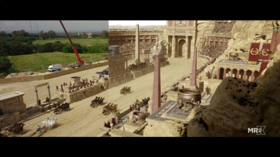 アカデミー史上最多受賞映画のリメイク版「ベン・ハー」、VFXの裏側映像が公開