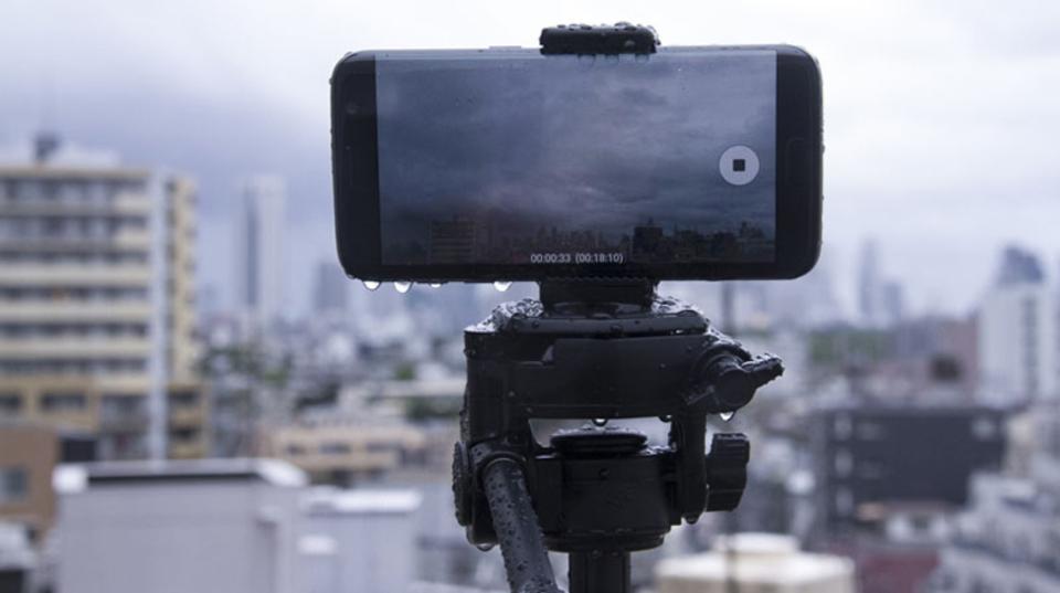 防水&高性能カメラ搭載のスマホだから撮れた。雨ニモマケズな「ゲリラ豪雨」タイムラプス