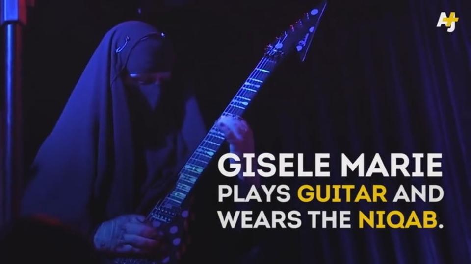 鋼鉄魂に宗派は無関係! イスラム教徒の女性メタル・ギタリスト