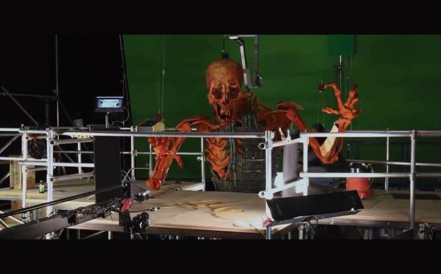 映画「クボ・アンド・ザ・ツー・ストリングス」のパペットモデルの裏側 3