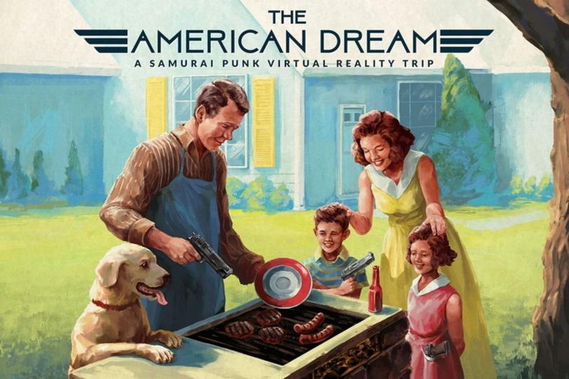 人生のすべてを銃で解決するVRゲーム「ジ・アメリカン・ドリーム」