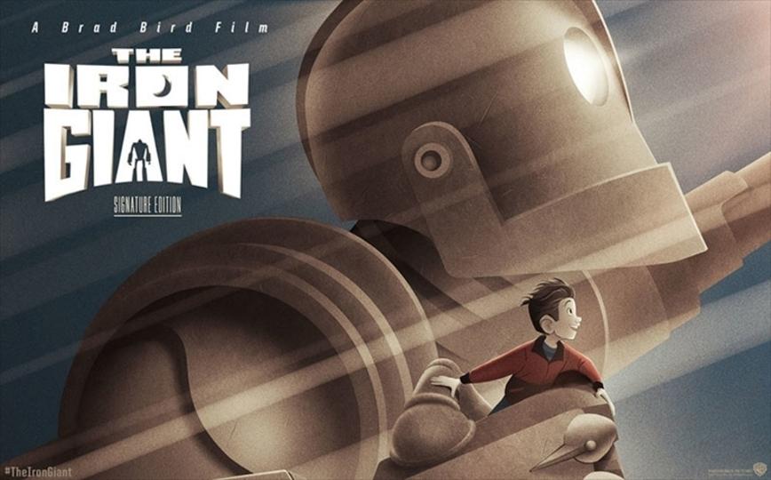 【追々記あり】隠れた名作ロボットアニメ映画「アイアン・ジャイアント」の完全版が上映&発売決定