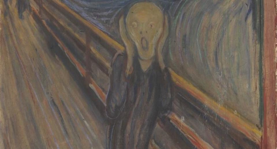 ムンクの「叫び」についていた白いシミの正体が明らかに
