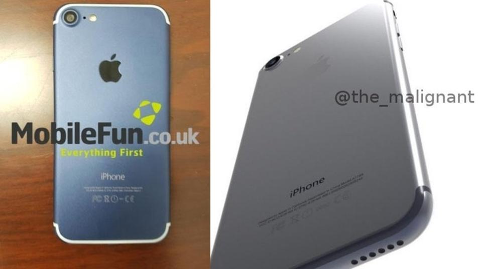 流出したiPhone 7、「ブラック」の正解はどっちだ?