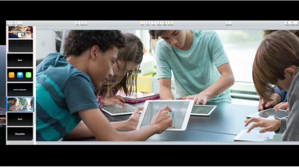 Appleが教育方面に注力。リアルタイムコラボレーションができる「iWork」発表