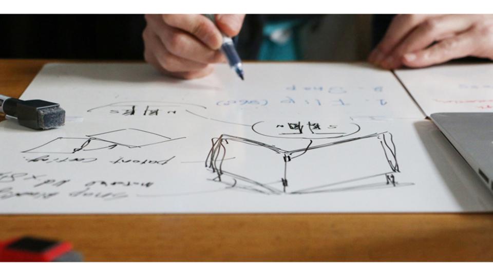 アイディアを気負わずアウトプットしよう。ルーズリーフ的なホワイトボード「バタフライボード」