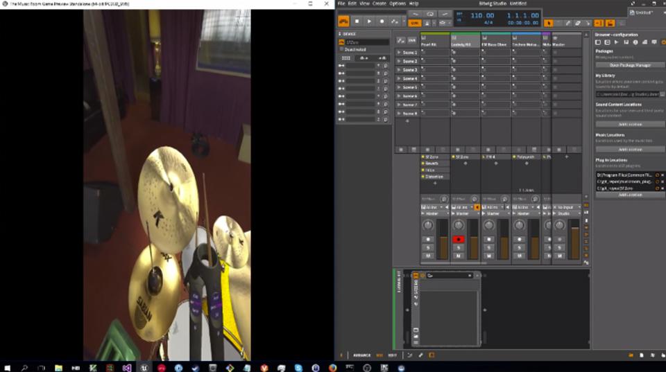 リアルとバーチャルが交差する。MIDI楽器をVRで鳴らせる「The Music Room」