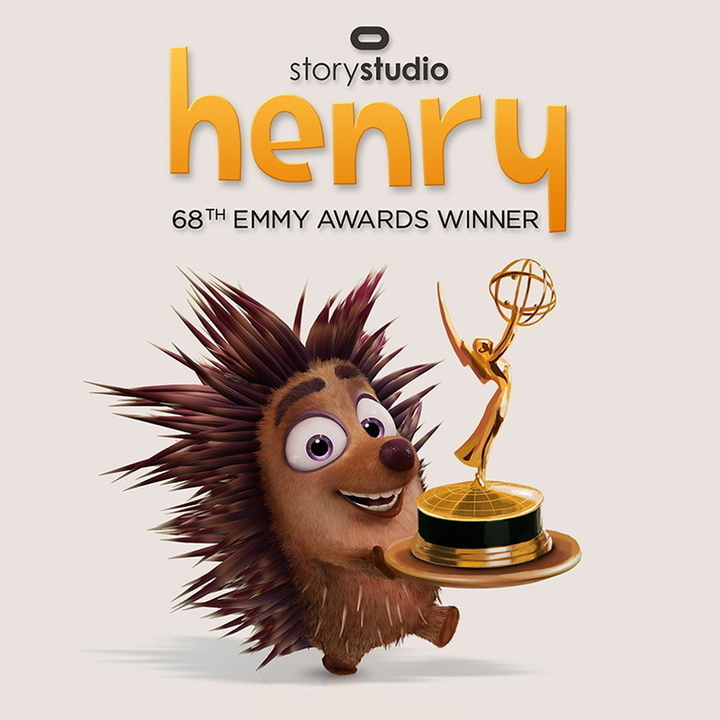 OculusのVR用短編アニメ「ヘンリー」がエミー賞を獲得
