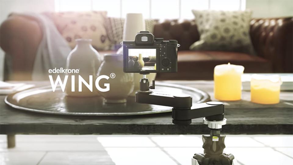 滑らかすぎるカメラスライダー「WING」であなたのビデオをハリウッドレベルに!?