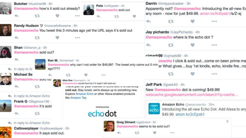 Amazonがまたもやうっかり公開、Echo Dot新モデルをフライングツイート
