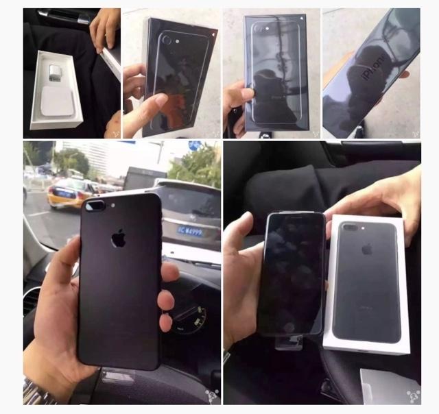 箱まで黒かった。iPhone 7がフライングアンボックスされる2