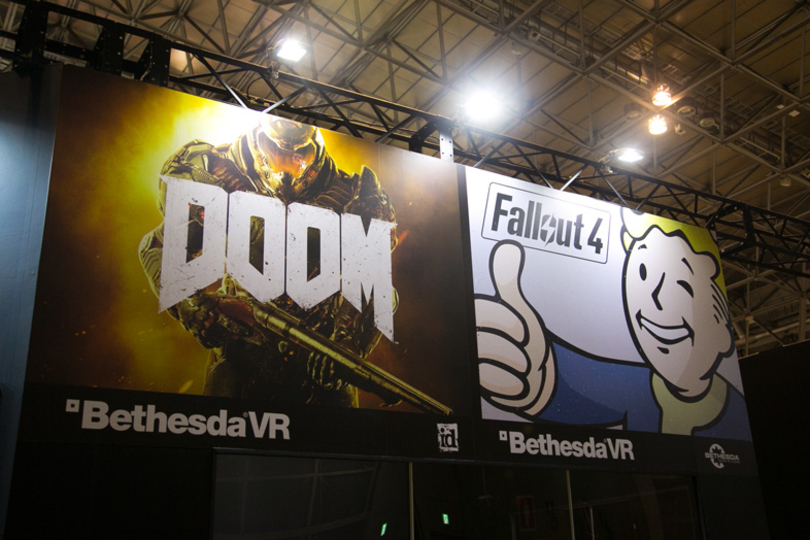 【TGS2016】格別の爆発を。VR版「Fallout」をいち早く体験!