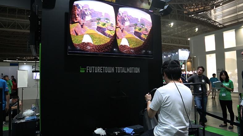 騎乗系VR「スタリオン・アドベンチャーズ」 3