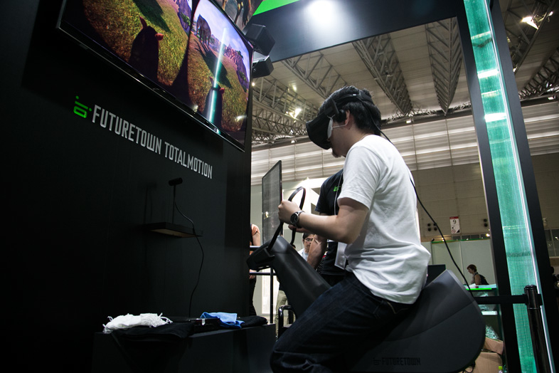 騎乗系VR「スタリオン・アドベンチャーズ」 1