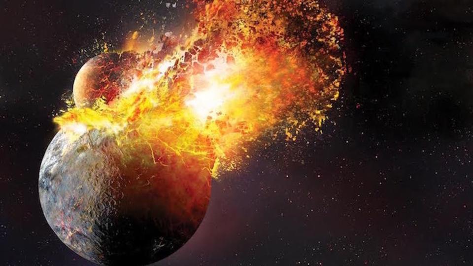 月ができる時、地球がほぼ蒸発していた可能性が浮上