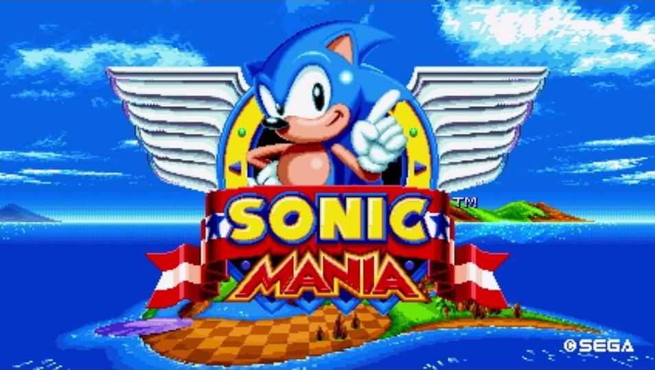 「セーガー」の音も! ソニックの新作ゲーム「Sonic Mania」はセットが超豪華