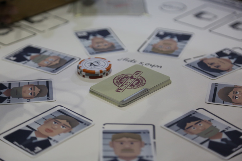 テーブルVRゲーム「スパイフォー」 1
