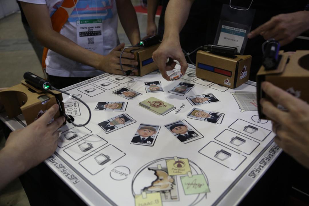 【TGS2016】VRとカードゲームを組み合わせたテーブルVRゲーム「スパイフォー」