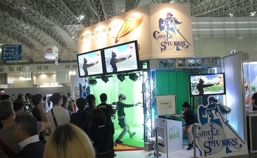 【TGS2016】仮想ファンタジー in 自分ッ! 体感型VRアクション「CIRCLE of SAVIORS」で魔法撃ってきた