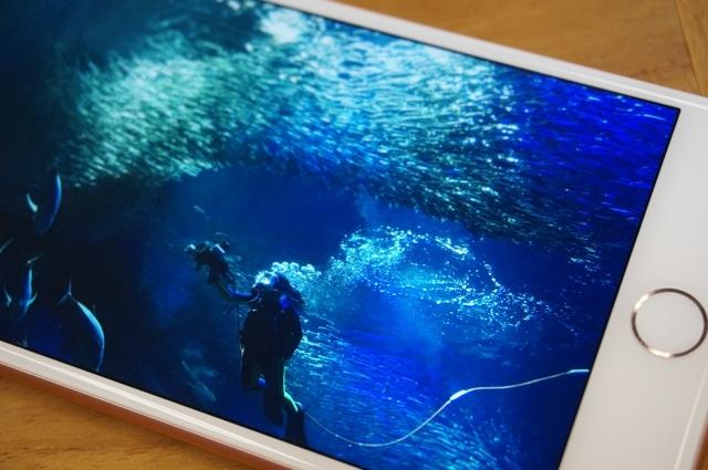 明るい?黄色い? それとも…。iPhone 7の液晶チェック4