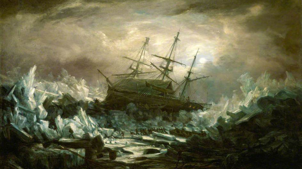 168年前に北極海で消えた船が完全な状態で発見される