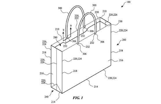 新たに公開されたAppleの特許は、なんと新しい紙袋!
