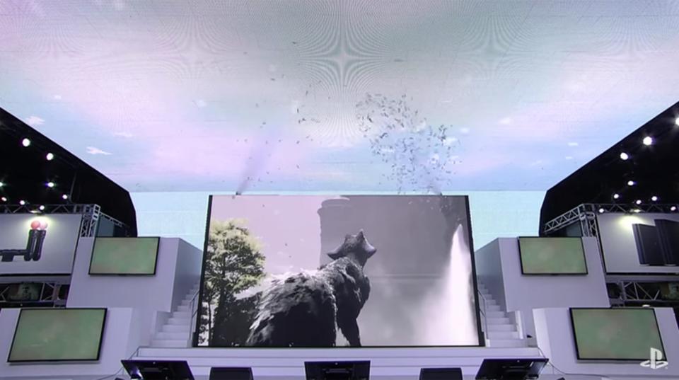 東京ゲームショウ2016の閉幕を飾った、「人喰いの大鷲トリコ」へ繋がるトリビュート映像