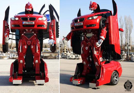 リアルトランスフォーマー。本当にロボットになる車、できました