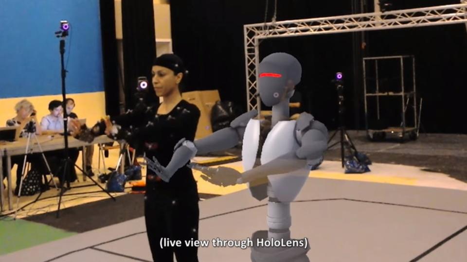 「HoloLens+モーション・キャプチャー」ならリアルタイムでモデリング結果が眼前に!