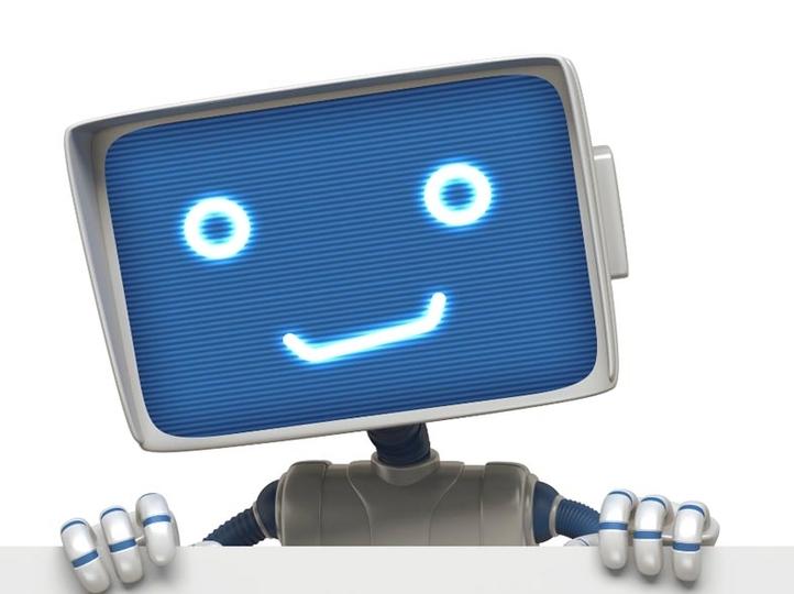 つぶらな瞳が愛らしい。教授の講義内容を評価し、感情で表すロボットが登場