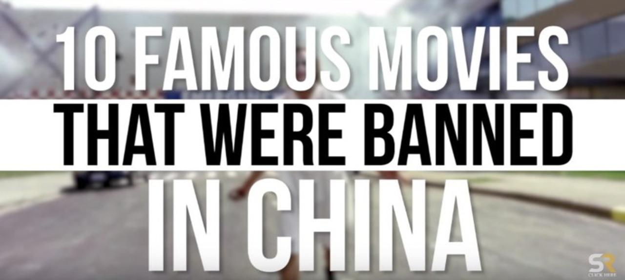 諸事情により中国で上映禁止になった名作映画10選