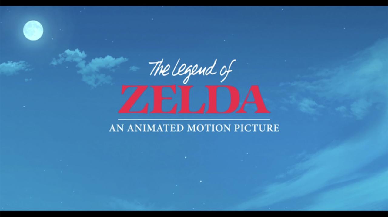 もしジブリが「ゼルダの伝説」の映画を作ったら?