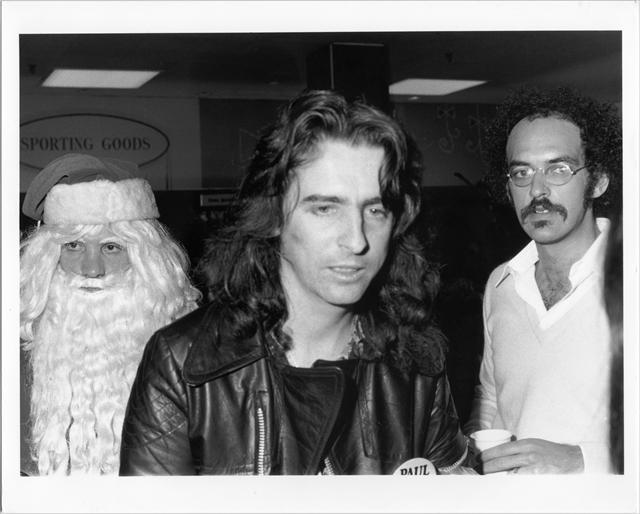 サンタクロースとアリス・クーパーとシェップ・ゴードン