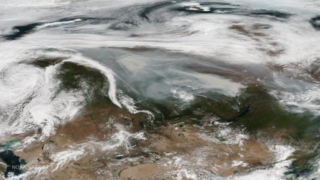 シベリアでの山火事、この夏ずっと燃えたままだった
