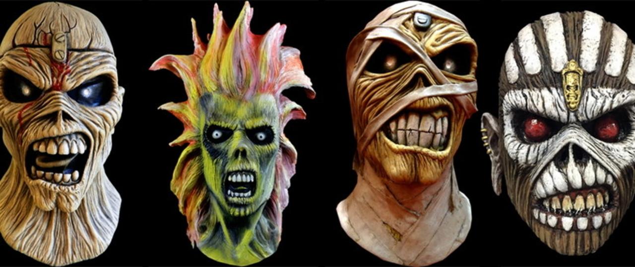 アイアン・メイデンのマスコット「エディ」の公式マスクが登場!