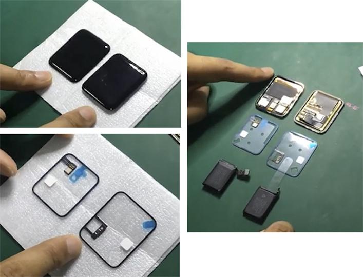薄型画面に大容量バッテリー。Apple Watch 2の内部部品が流出したかも?