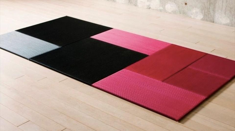 畳もカラーバリエーションがある時代。昭和レトロの象徴を現代アレンジした「OKI TATAMO!」