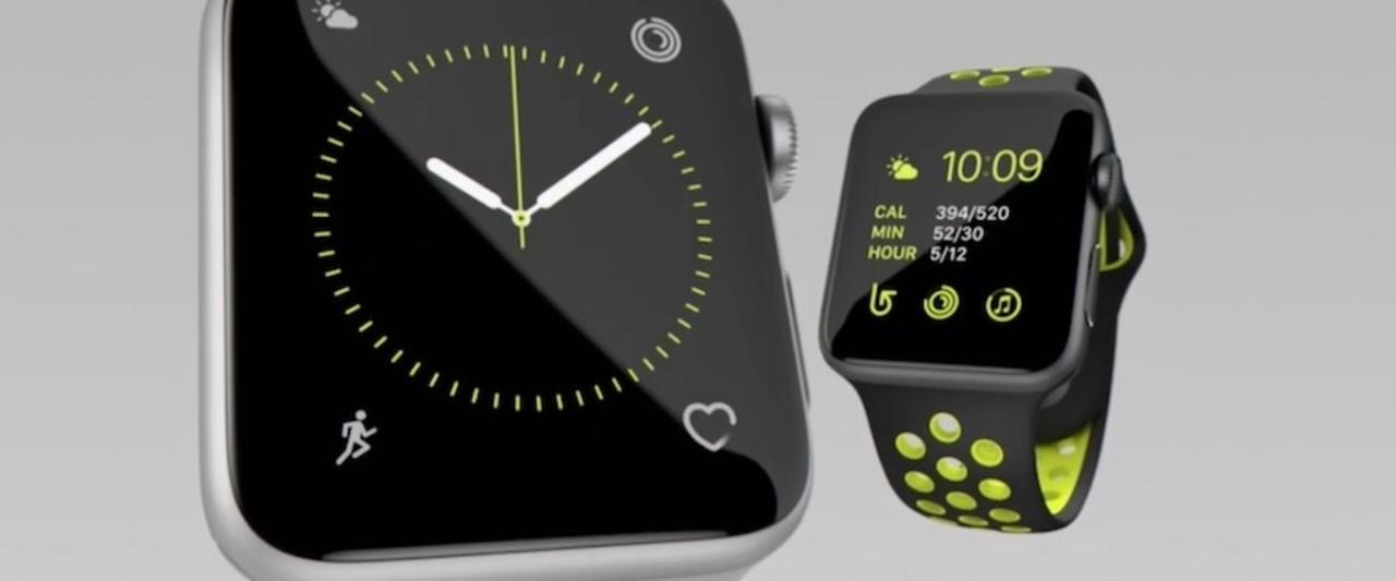 Apple Watch Series2登場。耐水性能アップでスイミングも可能!9月16日に発売
