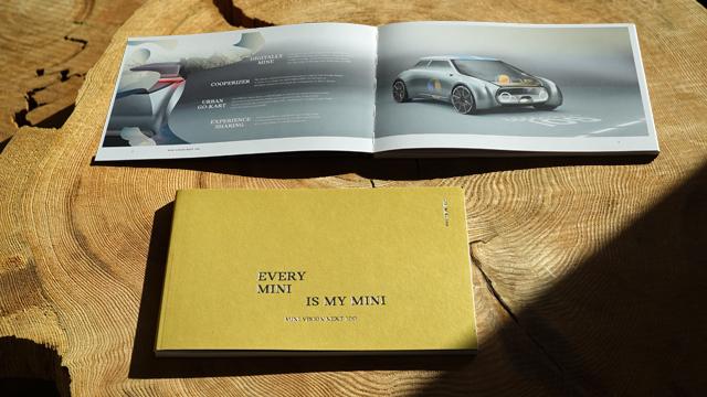 MINI VISION NEXT 100のブック