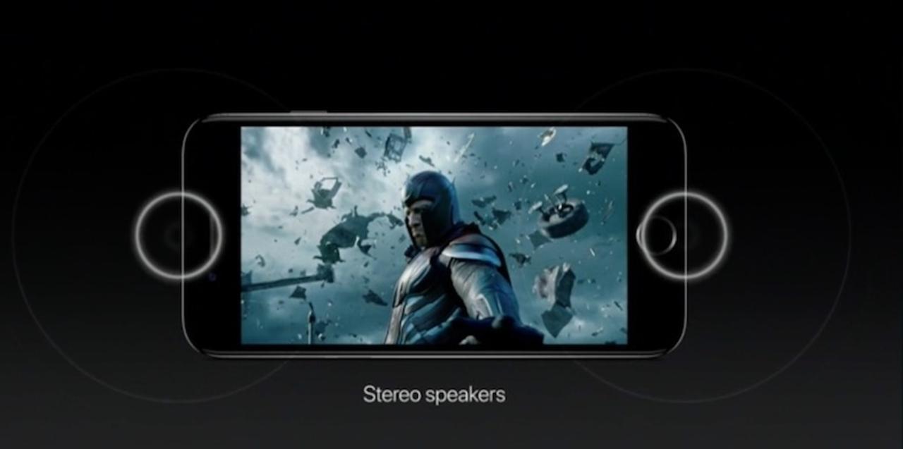 iPhone 7はステレオスピーカー搭載。Lightningイヤホンに変換アダプタもついてくる!